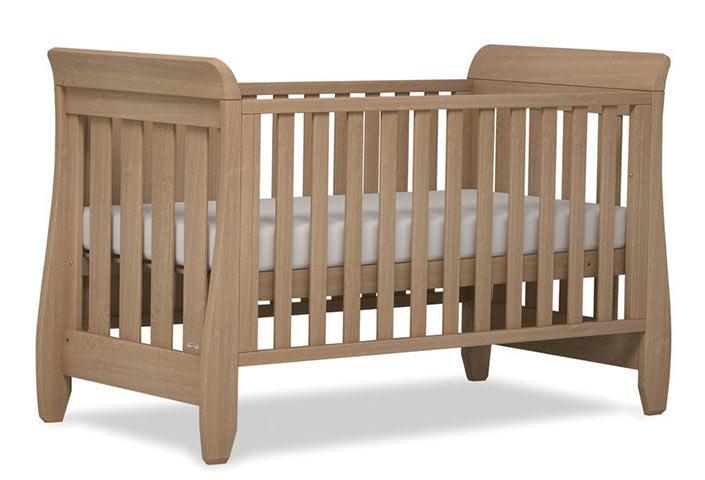 【BOORI ブーリ】木製ベビーベッド「6歳までベッド」 Sleight スレイ UJ-SLCBD(アーモンド)