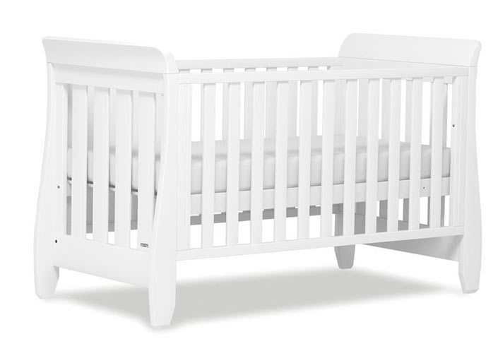 【BOORI ブーリ】木製ベビーベッド「6歳までベッド」 Sleight スレイ UJ-SLCBD(ホワイト)