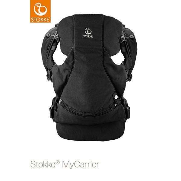 【STOKKEストッケ正規販売店】ストッケマイキャリア(STOKKE MyCarrier)フロント&バック(抱っこ&おんぶ)ブラック対面だっこ・前向き抱っこ・おんぶ【抱っこ紐/おんぶ紐】