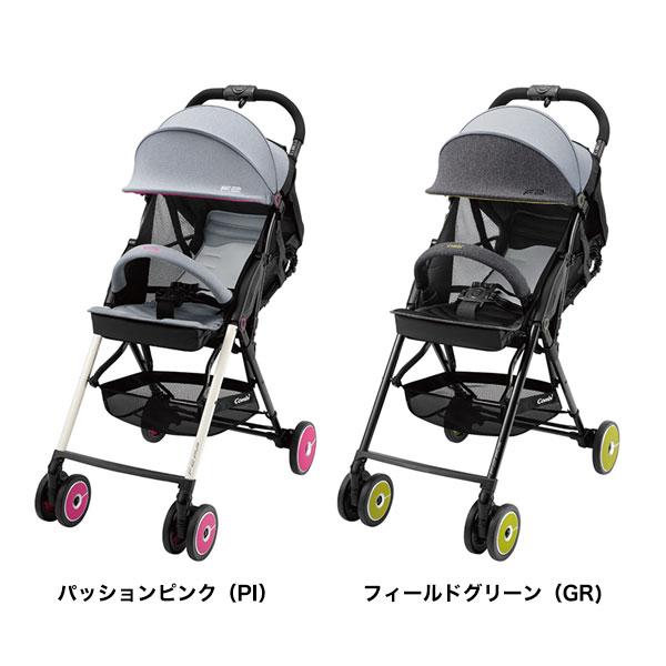 【combi コンビ正規販売店】F2plus AJ(2018年モデル※カラー選択)片手でカンタン操作!フルリクライニングバギー