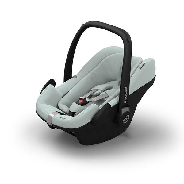 【Quinny・GMP正規販売店】FROM-BIRTH MAXI-COSIフロムバースマキシコシ新生児用ベビーシート(グレー)(ペブルプラス)【エアバギーココにアダプターで取り付け可能】