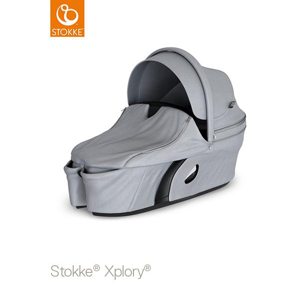【STOKKEストッケ正規販売店】ストッケ エクスプローリーキャリーコット(グレーメラーンジ)新生児向けアクセサリー