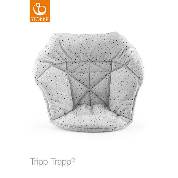 【STOKKEストッケ正規販売店】トリップトラップ ベビークッション(クラウドスプリンクル)Tripp Trapp Mini Baby Cushion6ヶ月から18ヶ月ごろまで