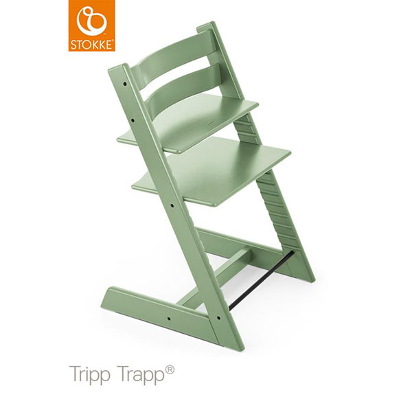 【STOKKEストッケ正規販売店】ストッケトリップトラップチェア(モスグリーン)Tripp Trapp Chair【登録で7年延長保証】