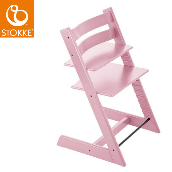 【STOKKEストッケ正規販売店】ストッケトリップトラップチェア(ソフトピンク)Tripp Trapp Chair【登録で7年延長保証】
