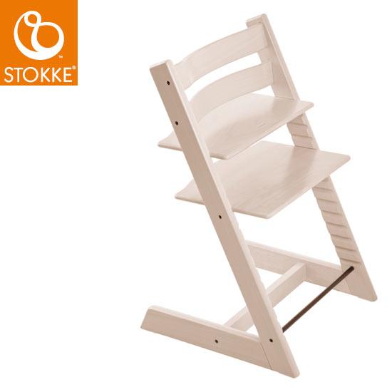 【STOKKEストッケ正規販売店】ストッケトリップトラップチェア(ホワイトウォッシュ)Tripp Trapp Chair【登録で7年延長保証】