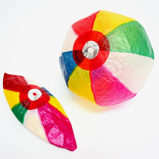おもちゃ 景品 駄菓子屋 懐かし玩具 販促 販売促進 お子様ランチ サービス品 激安 格安 安い----- 紙風船(紙フーセン・紙ふうせん) 約21cm 5枚入