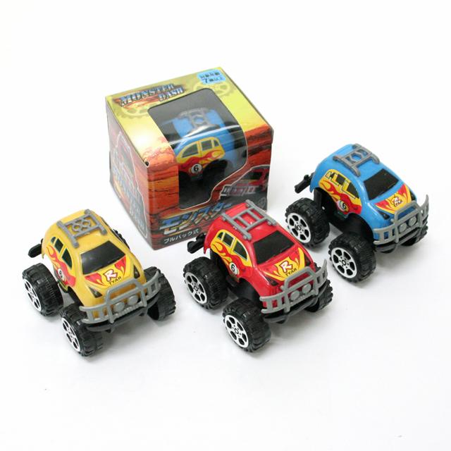 おもちゃ 景品 販促 販売促進 お子様ランチ サービス品 激安 格安 安い----- モンスターダッシュ 25入(ミニカー/プルバックカー)