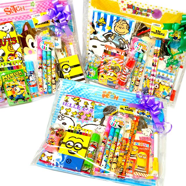 おもちゃ 景品 販促 販売促進 期間限定特別価格 未使用品 お子様ランチ サービス品 激安 取合せ 詰め合せ 詰合せ キャラクター文具詰め合わせP600 安い----- 格安