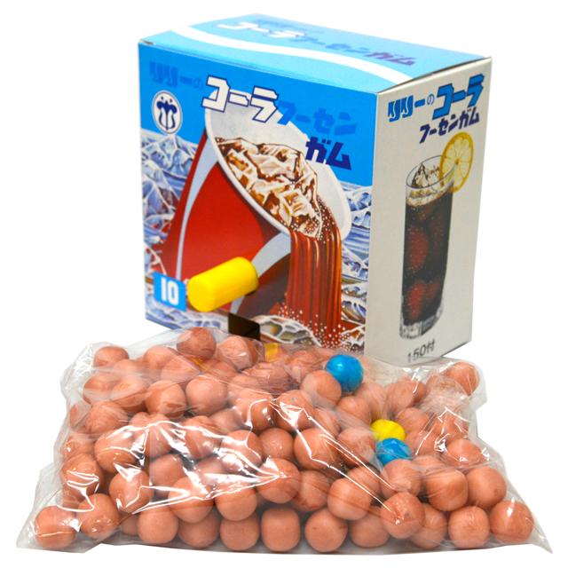 コーラ玉出しフーセンガム 日本メーカー新品 10円 150付 駄菓子 時間指定不可 玉出しガム