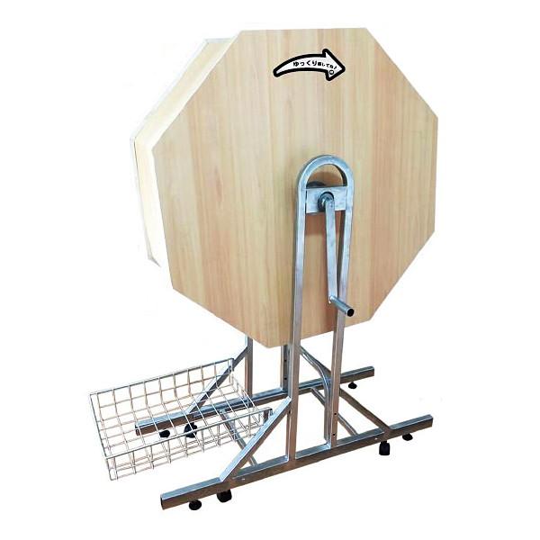 ジャンボガラポン抽選器[抽選機] 木製 H140cm [大型商品160cm以上][代金引換払い不可]