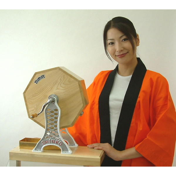 高級 木製ガラポン福引抽選器 1000球用 SHINKO製 国産 / 抽選機 ガラガラ 抽選会 /動画有