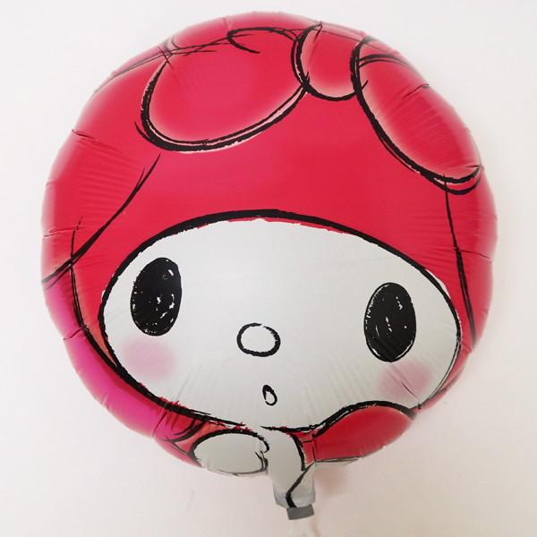 キャラクターUFO風船 マイメロディ(50枚) 糸付【バルーン】