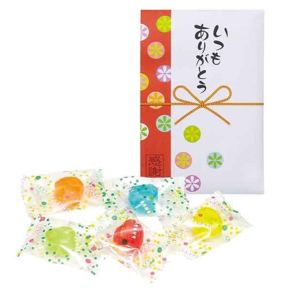 感謝飴 水引付・四葉柄キャンディー 緑袋 200個セット