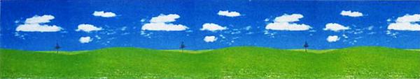 ビニール幕 草原