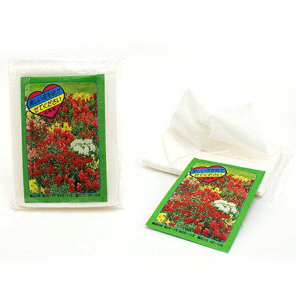 花の種付きティッシュプレゼント(500ヶ)
