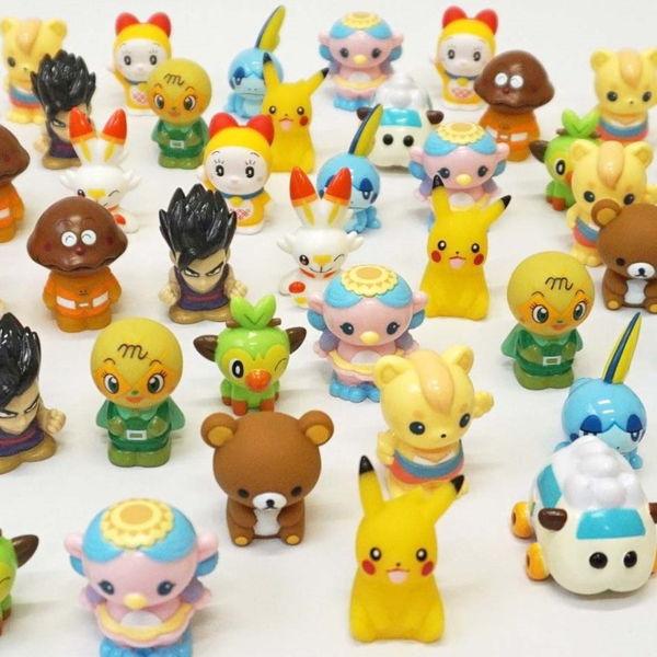 人形すくいセットの人形のみ(100ヶ)【キャラクター人形 お祭り販売品 縁日】
