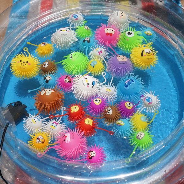 [簡単スタートキット]オール!ピカピカフラッシュ光りもの釣り大会 60個 /釣り用品 すくい用品 お祭り用品/ 動画有