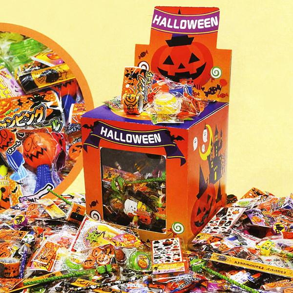 ハロウィン おもちゃの宝箱 つかみどり 100個