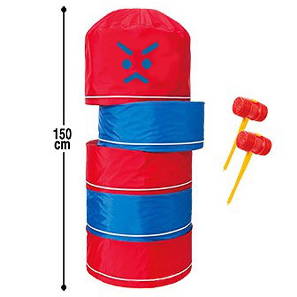 ビッグだるま落とし H150cm [大型商品] / イベント 達磨落とし
