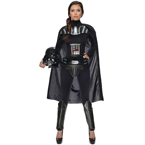 ハロウィンコスチューム 女性用ダースベイダー Ad Darth Vader Female - Std
