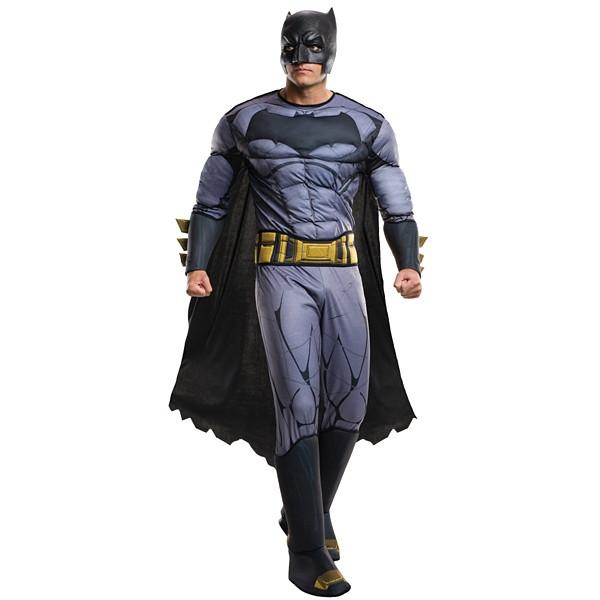 ハロウィンコスチューム 大人用デラックスバットマン(BVS) Ad Dx Batman(BVS) - Std
