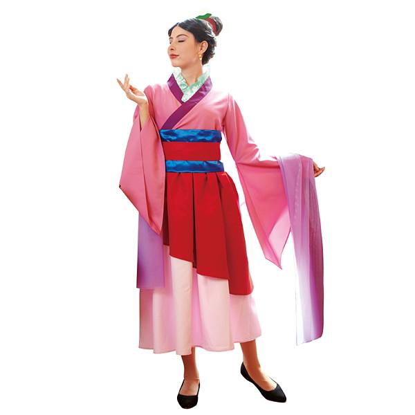 ハロウィンコスチューム 大人用ムーランAdult Mulan