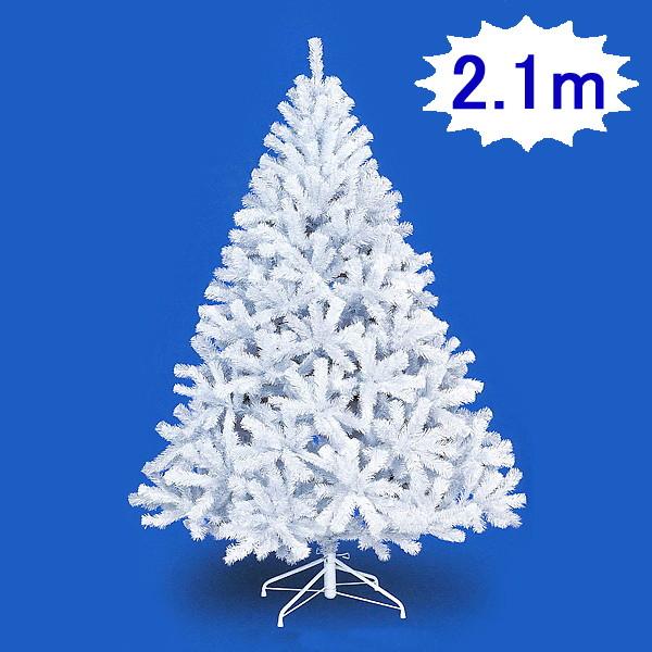 クリスマスツリー ホワイトパインツリー H210cm×W145cm 3分割 / 装飾 デコレーション