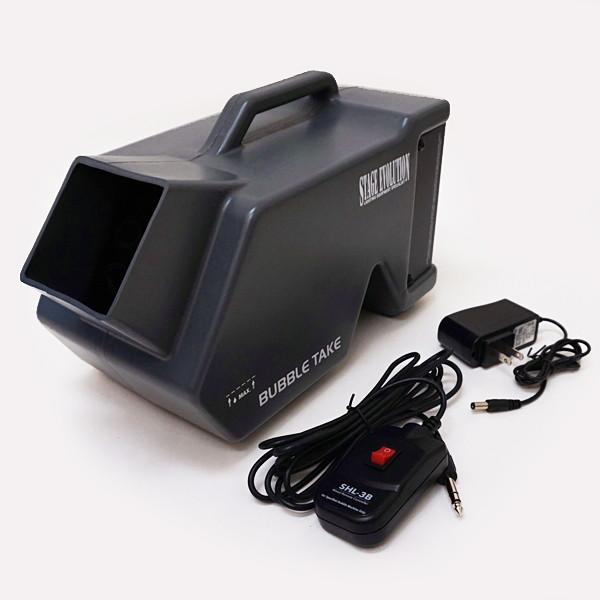 特殊効果 シャボン玉マシン 小型軽量 充電式 [北海道 沖縄 離島への配送不可]