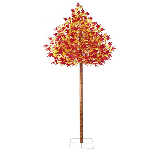 秋もみじ装飾 紅葉[もみじ]立木 230cm