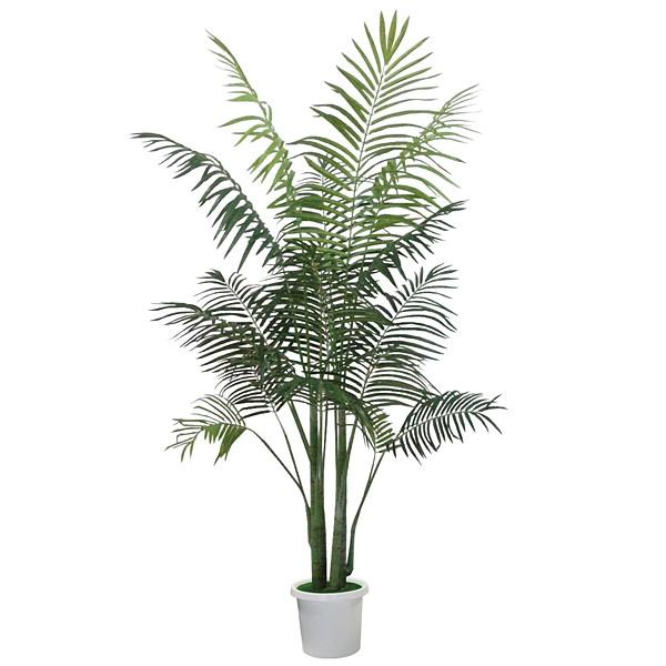 人工樹木 パームツリー H180cm 鉢付き / 観葉植物 造花 ヤシの木 装飾 飾り ディスプレイ