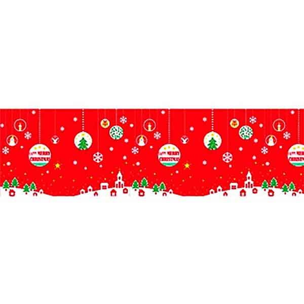 クリスマス装飾ビニール幕 B(メリークリスマス)