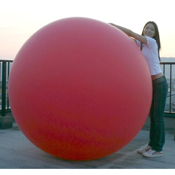 【国産】ジャンボバルーン[巨大風船] 6フィート(180cm)サイズ