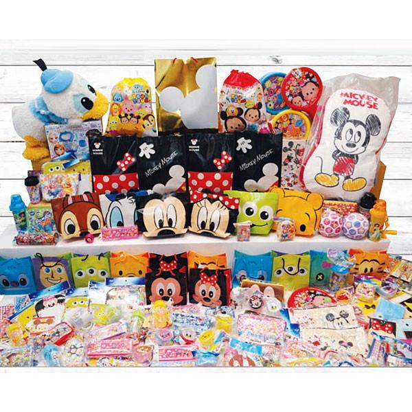 ディズニーなど人気キャラクター福袋抽選会景品セット(60名様用)
