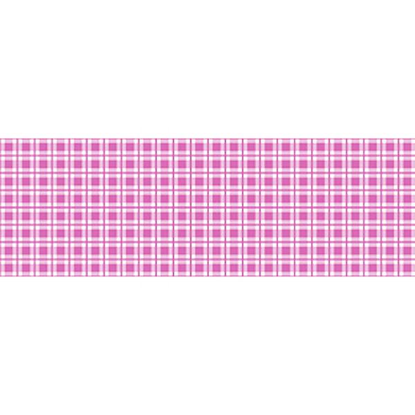 バレンタイン装飾 ビニール幕 ピンクチェック 60cm幅×50m巻