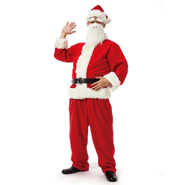 サンタコスチューム メンズサンタクロースDX / クリスマス コスプレ 衣装 パーティー