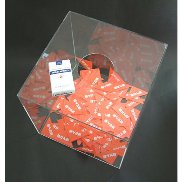 no-1244  アクリル製抽選箱A 30cm