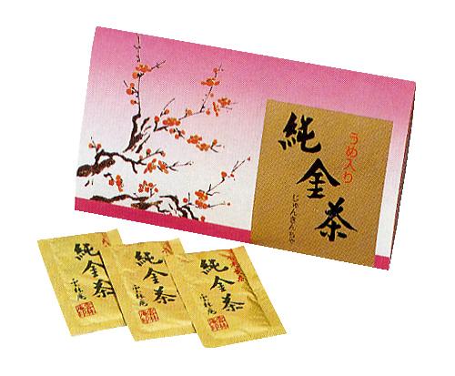 純金梅こぶ茶3包入り 150円×100セット