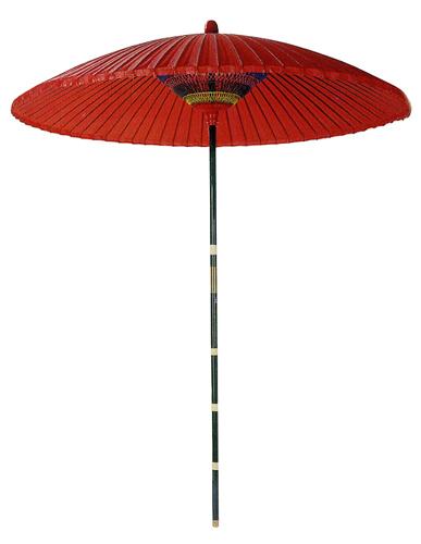 高級野点傘 直径200×H245cm / 飾り ディスプレイ 春