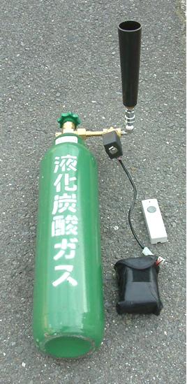 特殊効果 ガススモーク(ノズル2双とリモコン) (ガスは別売)/ 動画有