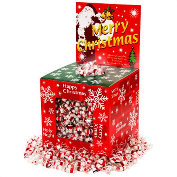 クリスマスサンタチョコすくいどり景品セット 600個/ 動画有