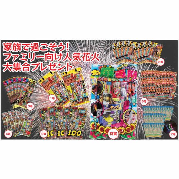 [送料無料] 大江戸花火夏祭りプレゼント抽選会(100名様用) / 縁日 おまつり 景品