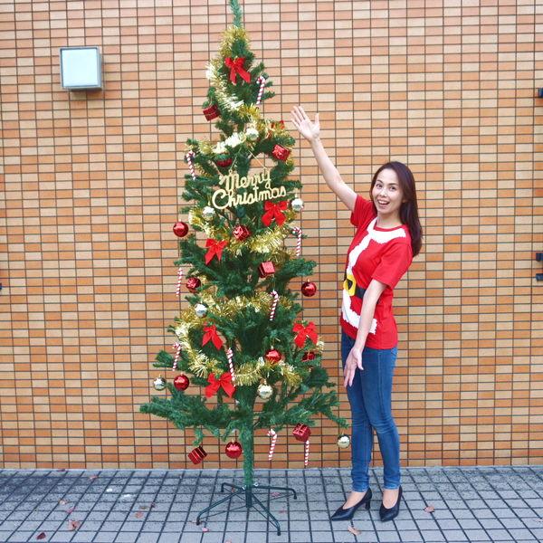 [送料無料] クリスマス装飾 クリスマスツリー カナディアンGOLDシリーズ 180cm