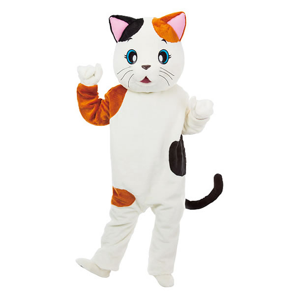 [送料無料] 着ぐるみ[きぐるみ] 三毛猫[みけねこ・ミケネコ] /アニマル・着ぐるみ