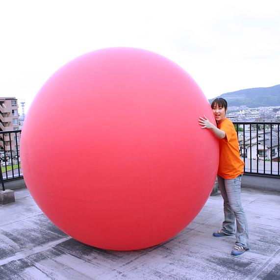 【国産】ジャンボバルーン[巨大風船] 8フィート(240cm)サイズ