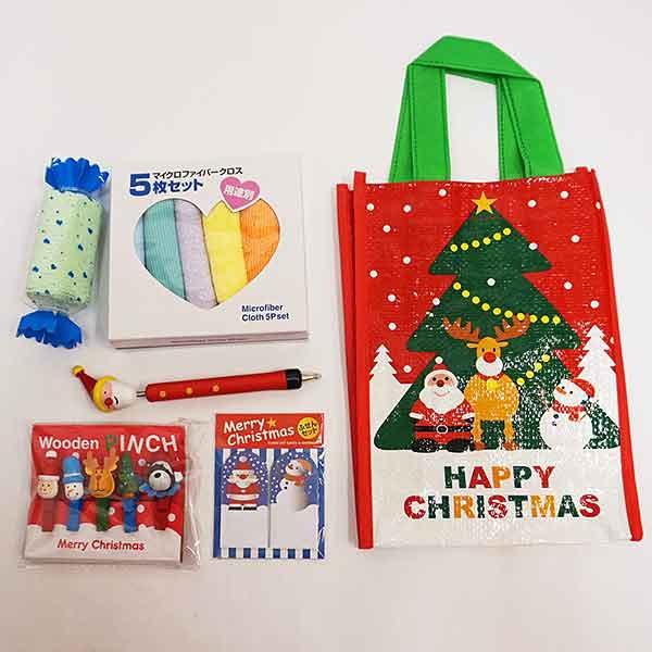 クリスマスお楽しみ袋 A おもちゃ3~4点 48名分  500円×48個