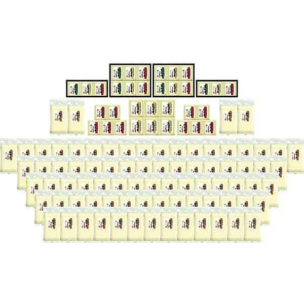[送料無料] 新潟産コシヒカリ三大産地プレゼント抽選会(100名様用) / お米 景品 当てくじ