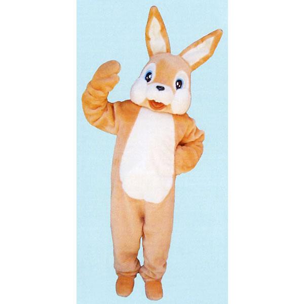 着ぐるみ[きぐるみ] オレンジ兎[オレンジうさぎ・ウサギ] /アニマル 着ぐるみ 動物