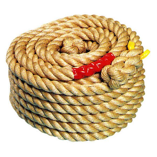 [送料無料] 綱引きロープA(直径30mm×40m) 小中学生用/ 動画有