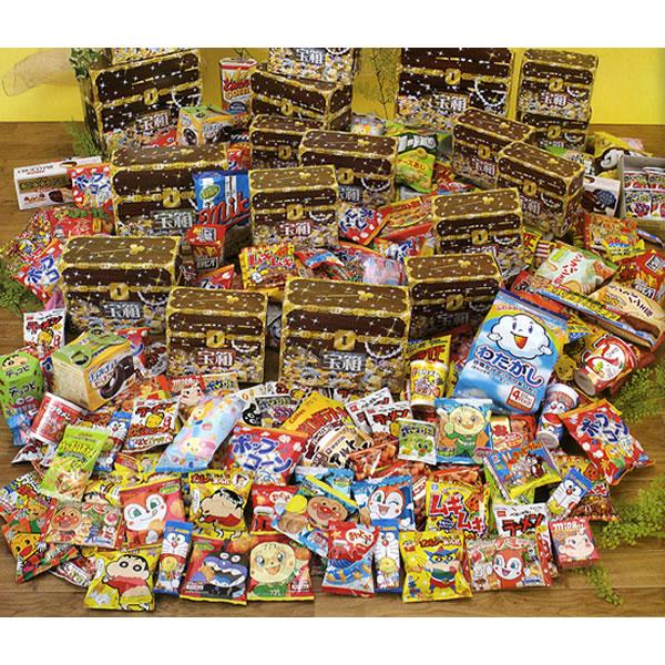 [送料無料] お菓子入り宝箱抽選会(100名様用) [大型商品160cm以上]